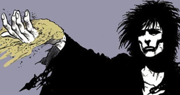 Sandman - Tom Sturridge jako Morfeusz na pierwszym nagraniu z planu