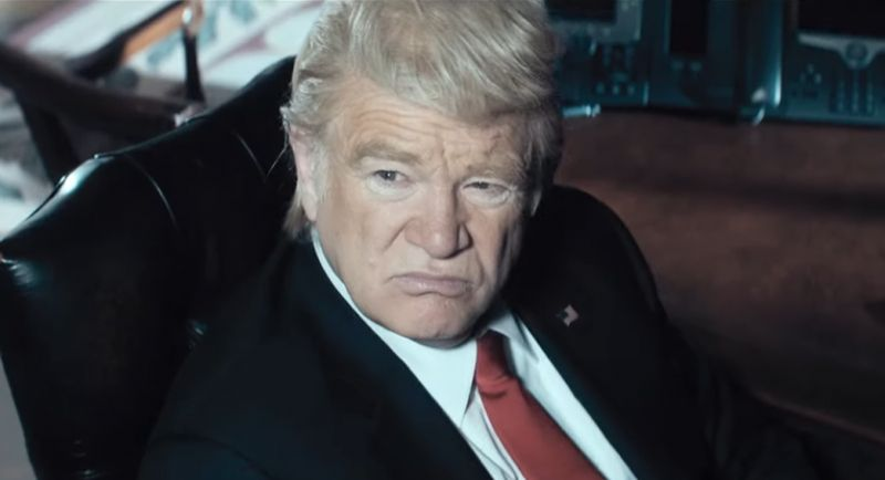 The Comey Rule - zwiastun serialu. Brendan Gleeson jako Donald Trump
