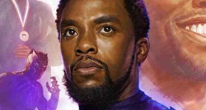 Chadwick Boseman dbał o innych do samego końca. Wzruszająca grafika artysty Marvela