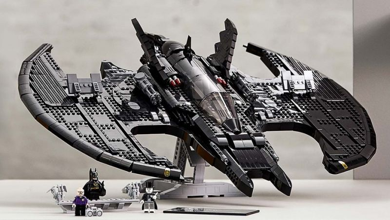 Kapitalny Batwing z filmu Tima Burtona od LEGO