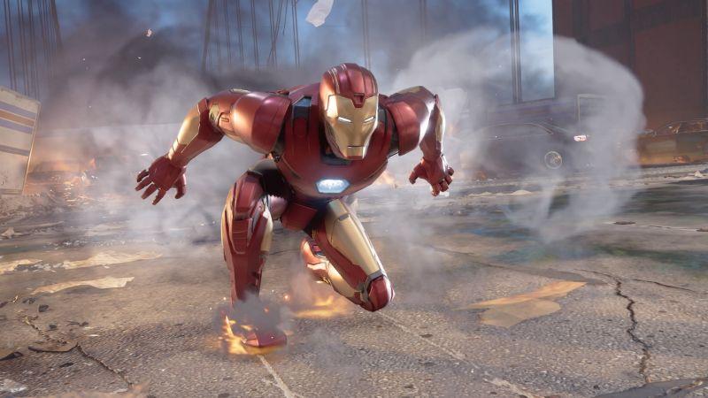 Marvel's Avengers - zobacz jak w grze mogą wyglądać Czarna Pantera i War Machine