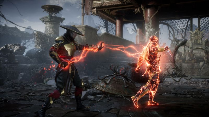 Mortal Kombat 11 z kolejnymi postaciami. Rain, Mileena i... Rambo?
