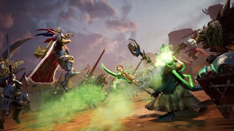 Total War Battles: WARHAMMER - popularna seria na urządzeniach mobilnych. Zobacz zwiastun