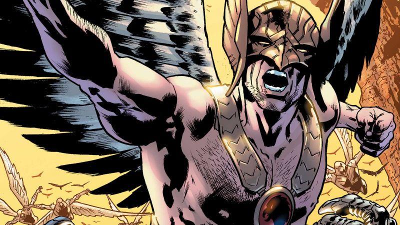 Black Adam - jak Aldis Hodge może prezentować się jako Hawkman? Fanowska grafika