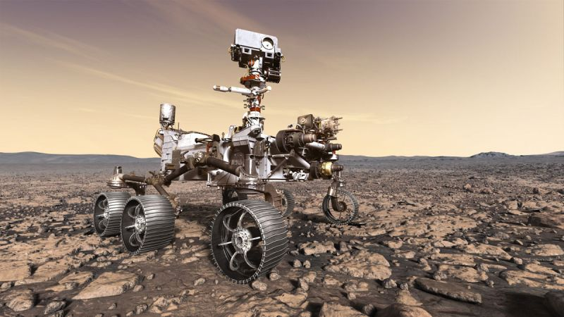 Łazik Perseverance wyląduje na Marsie. Gdzie śledzić przebieg misji?