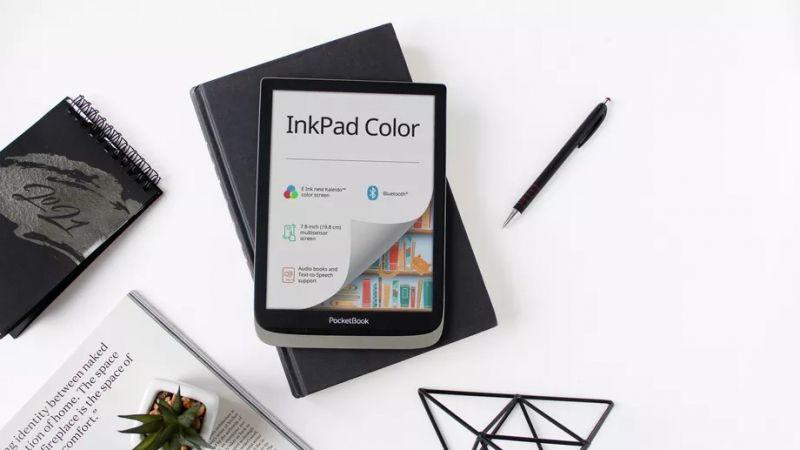 PocketBook InkPad Color - 7,8-calowy czytnik e-booków z kolorowym wyświetlaczem