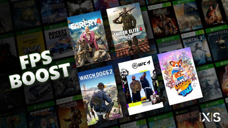 FPS Boost poprawi płynność starszych gier odpalanych na Xboksie Series X|S