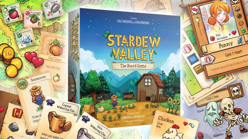 Stardew Valley doczeka się gry planszowej. Znamy cenę