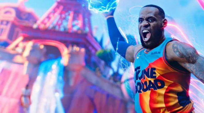 Kosmiczny mecz 2 - LeBron James dołącza do Tune Squad na nowych zdjęciach
