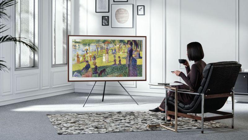 Nowe designerskie telewizory Samsung The Frame 2021 trafiły do Polski