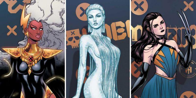 X-Meni zniewalają pięknem na tych okładkach. Na Hellfire Gala będzie... zielony dywan