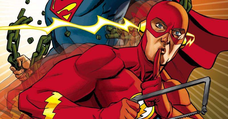 Flash stał się słynnym złoczyńcą - i to z kreskówki. Moc Szybkości płata figle
