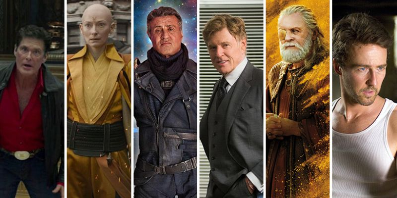 Najlepsi aktorzy, którzy wystąpili w MCU. Szykujcie popcorn - Downey Jr. daleko, Hemswortha brak