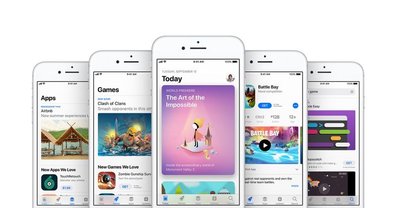 2% spośród 1000 najpopularniejszych aplikacji z App Store wyłuz