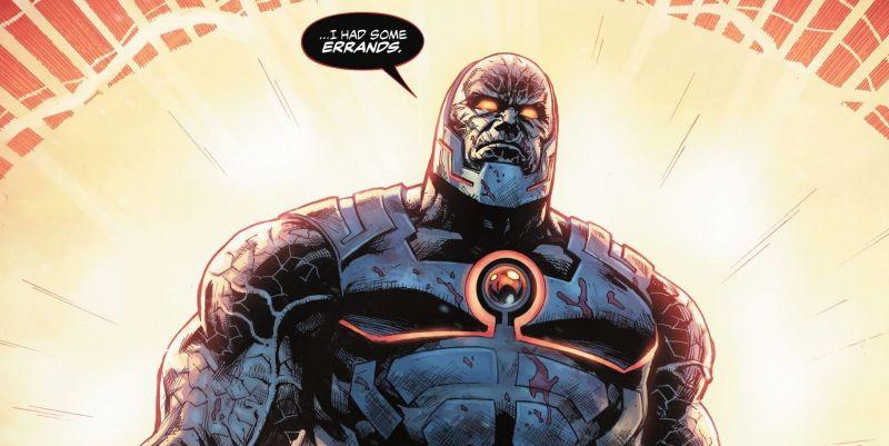 Śmierć herosa Ligi Sprawiedliwości. Darkseid zabija mocarzy, Wonder Woman odcina głowę [SPOILER]