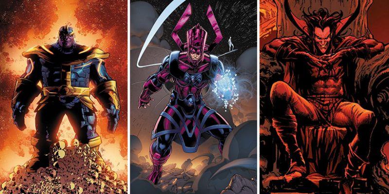 Marvel oficjalnie wskazał 6 największych złoczyńców. Są Thanos, Mefisto i spore zaskoczenia