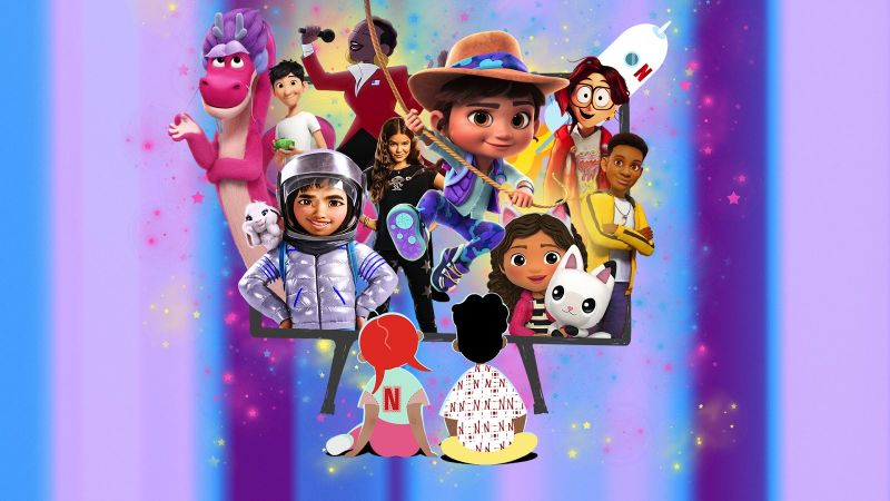 Netflix wprowadza listy TOP 10 dla dzieci oraz mailing tematyczny