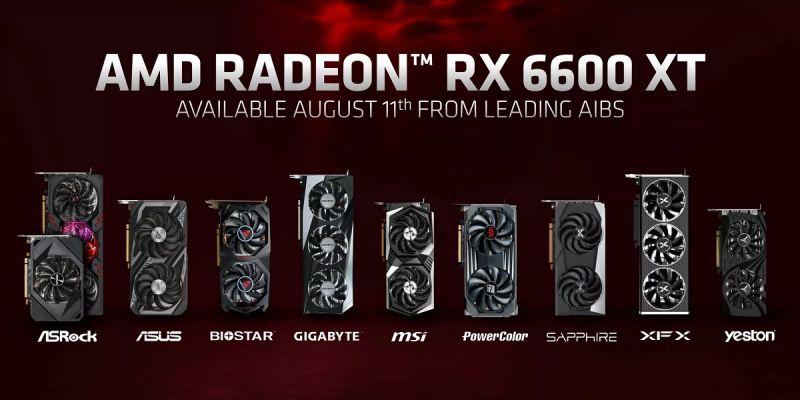 AMD Radeon RX 6600 XT – nowa karta stworzona do grania w 1080p