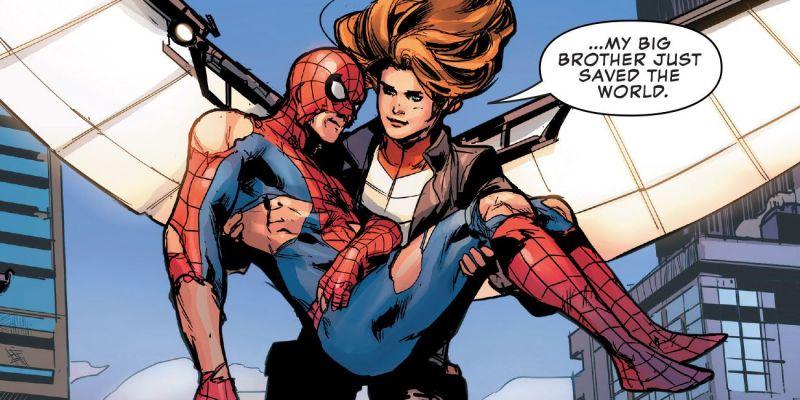 Siostra Spider-Mana wcale nie jest jego siostrą? Nowe fakty łączą ją z Zimowym Żołnierzem