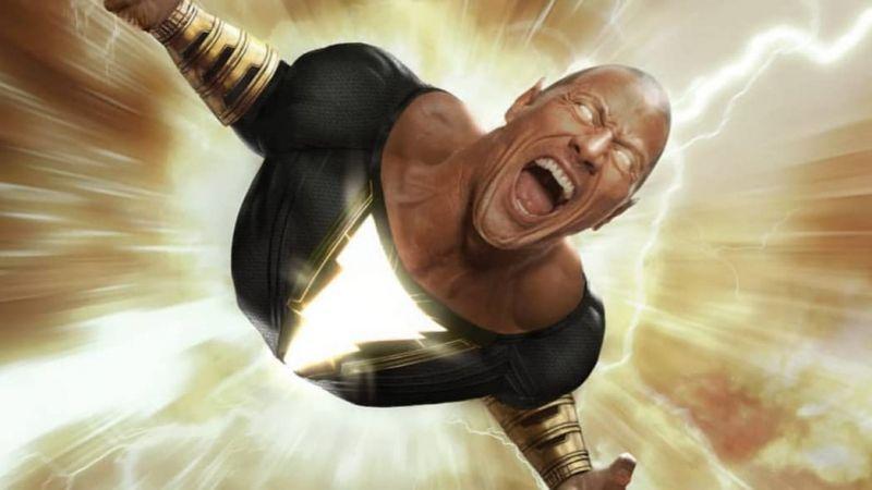 Black Adam - aktor dzieli się zdjęciem zza kulis. Dwayne Johnson robi wrażenie