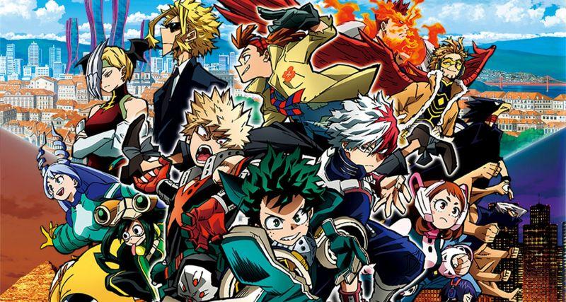 My Hero Academia: World Heroes' Mission - nowy zwiastun filmu anime o superbohaterach