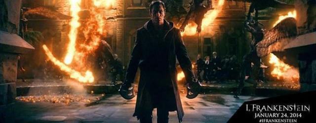 """Plakat i spot filmu """"Ja, Frankenstein"""""""