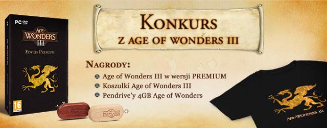 """Konkurs z """"Age of Wonders III"""""""