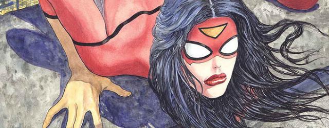 Spider-Woman jak z komiksu porno