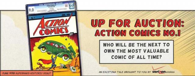 Najdroższy komiks w historii – Superman za 3,2 mln dolarów