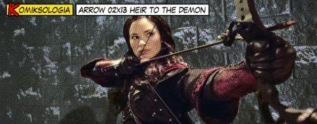 KOMIKSOLOGIA: Arrow 02×13