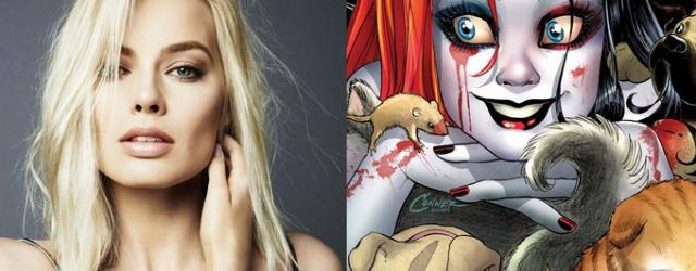 "Margot Robbie jako Harley Quinn w ""Suicide Squad""?"