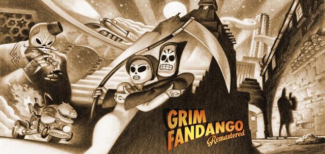 """""""Grim Fandango Remastered"""":  Remaster niekompletny – recenzja"""