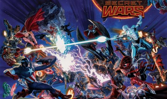 "Fani parodiują ""Secret Wars"" Marvela"