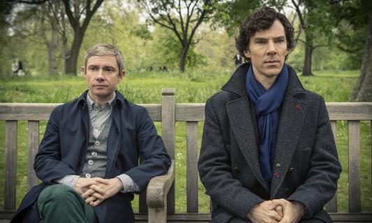 "Martin Freeman o serialu ""Sherlock"""