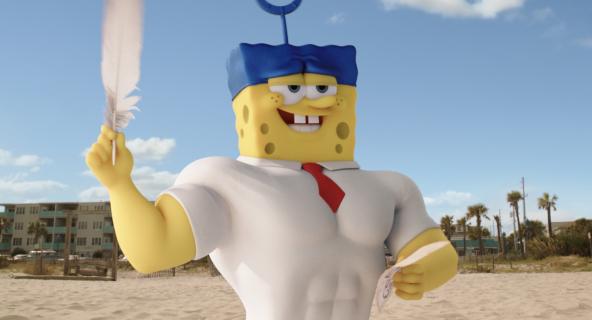 """Box Office: """"Snajper"""" zdetronizowany! """"SpongeBob: na suchym lądzie"""" zdobywa 1. miejsce"""