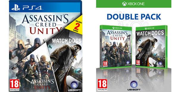 Ubisoft szykuje Double Pack z ostatnimi hitami
