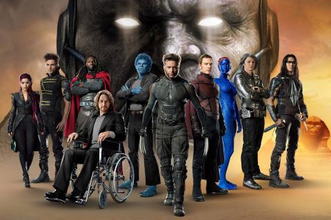"""""""X-Men: Apocalypse"""" – czarny charakter na oficjalnym plakacie (Comic-Con)"""