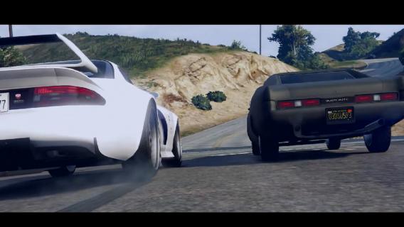 "Hołd dla Paula Walkera w ""Grand Theft Auto V"""