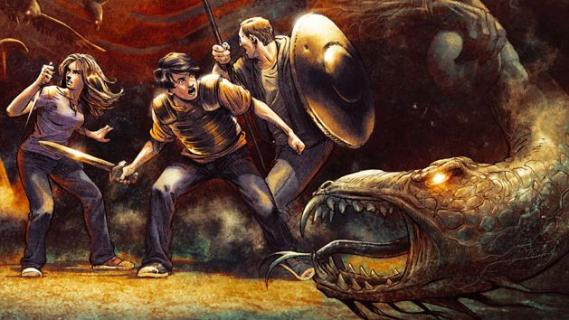 """""""Morze Potworów"""" w wersji komiksowej"""