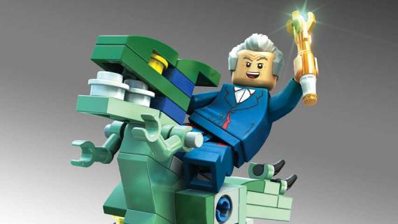 """Peter Capaldi jako Doktor w grze """"LEGO Dimensions"""". Zobacz zwiastun"""