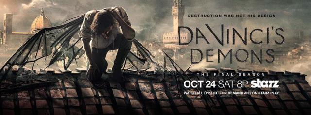 """Demony Da Vinci"": Prezes Starz o końcu serialu"