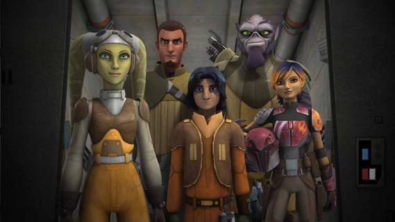 """2. sezon serialu """"Star Wars Rebelianci"""" – widowiskowy pełny zwiastun"""