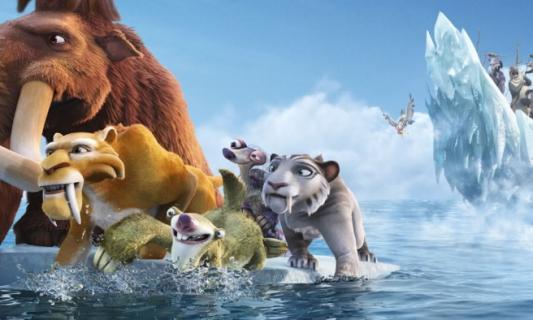 Najśmieszniejsze sceny z serii Epoka lodowcowa