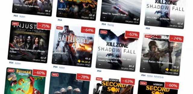 Olbrzymia wyprzedaż na PlayStation Store