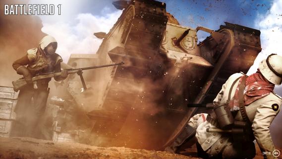 Ujawniono wymagania sprzętowe gry Battlefield 1