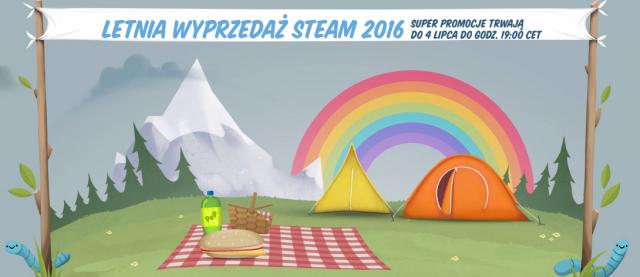 Rozpoczęła się letnia wyprzedaż gier na platformie Steam