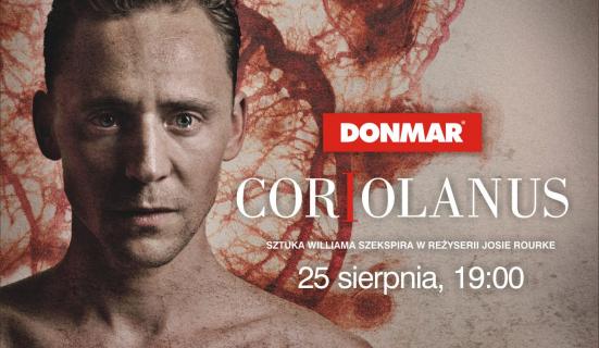 Loki jako bezwzględny wódz Rzymian. Koriolan z National Theatre w Multkinie – recenzja