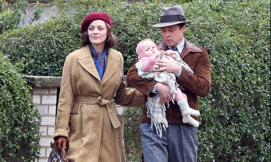 Brad Pitt i Marion Cotillard na pierwszym oficjalnym zdjęciu z Allied