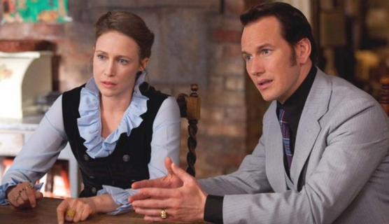 Patrick Wilson i Vera Farmiga u boku Liama Neesona w filmie The Commuter