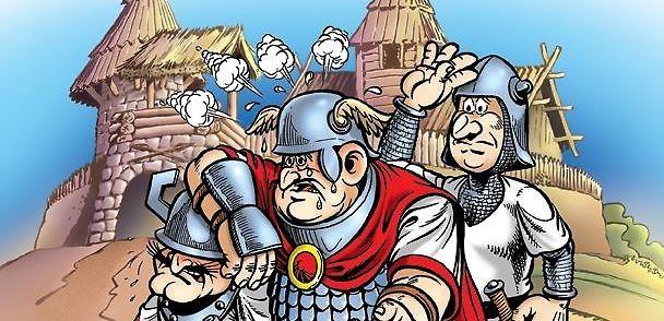 Obłęd Hegemona – obejrzyj plansze z nowego Kajka i Kokosza